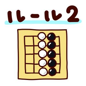 囲碁ルール2「陣地の大きいほうが勝ち」 コミも解説