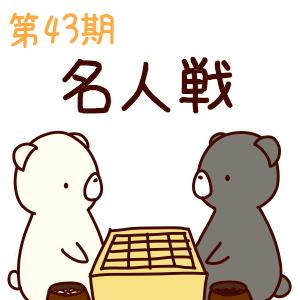 第43期名人戦 挑戦手合第1局 井山裕太名人 vs 張栩九段