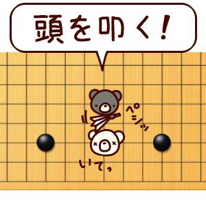 【有段までの道のり 18】中盤の考え方4:弱い石の攻め方「頭を叩く」